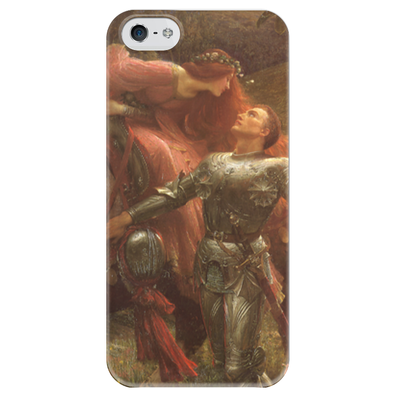 Чехол для iPhone 5 глянцевый, с полной запечаткой Printio Безжалостная красавица (фрэнк бернард дикси) чехол для iphone 6 глянцевый printio спящая красавица сказка