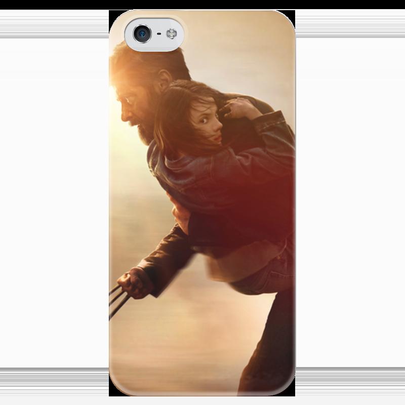 Чехол для iPhone 5 глянцевый, с полной запечаткой Printio Логан чехол для iphone 5 глянцевый с полной запечаткой printio иллид