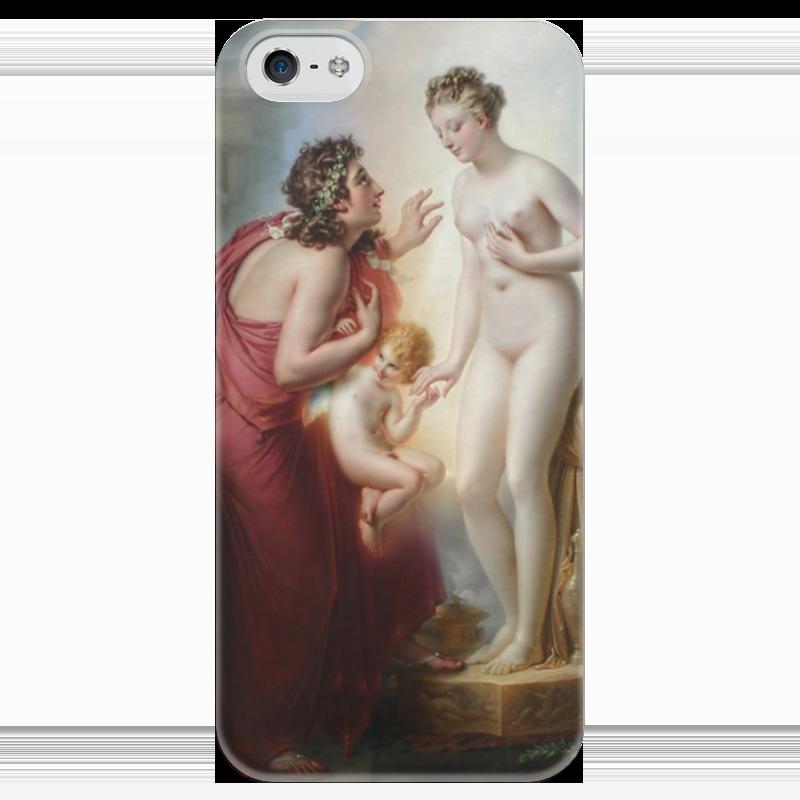 Чехол для iPhone 5 глянцевый, с полной запечаткой Printio Пигмалион и галатея (анн-луи жироде-триозон) пигмалион с