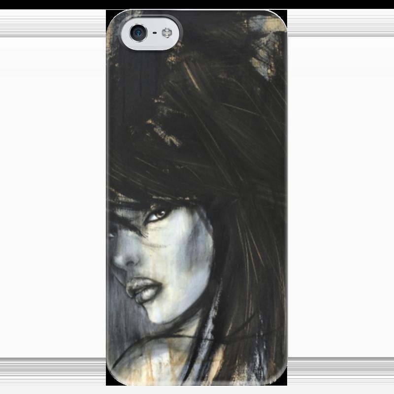 Чехол для iPhone 5 глянцевый, с полной запечаткой Printio Mimi yoon art #6 я immersive digital art 2018 02 10t19 30