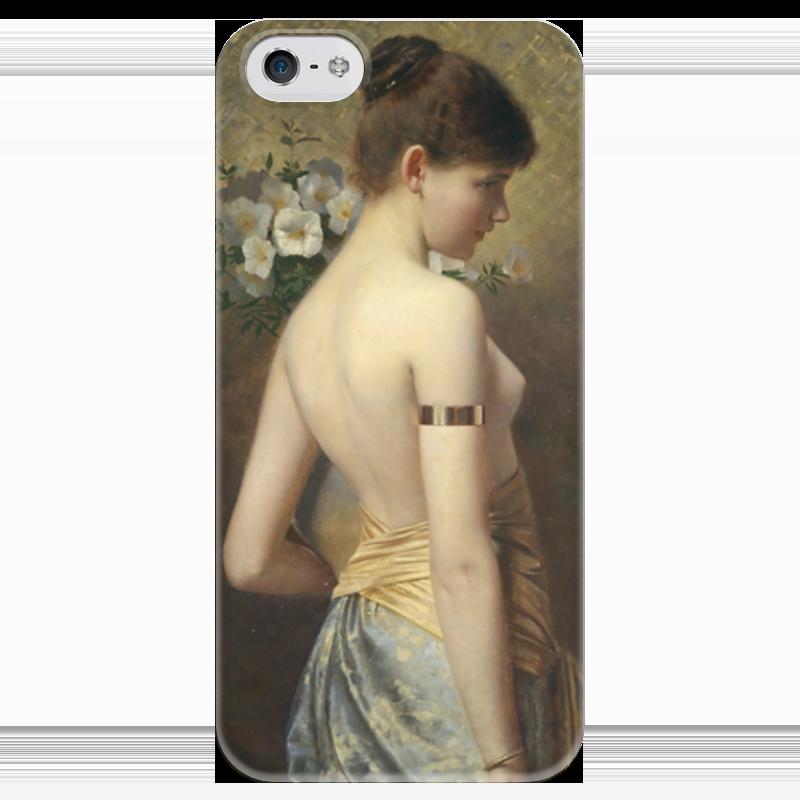 Чехол для iPhone 5 глянцевый, с полной запечаткой Printio Flora (флора) салонный фильтр мазда демио dy3w