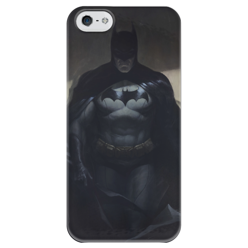Чехол для iPhone 5 глянцевый, с полной запечаткой Printio Бэтмен чехол для iphone 5 глянцевый с полной запечаткой printio хайзенберг