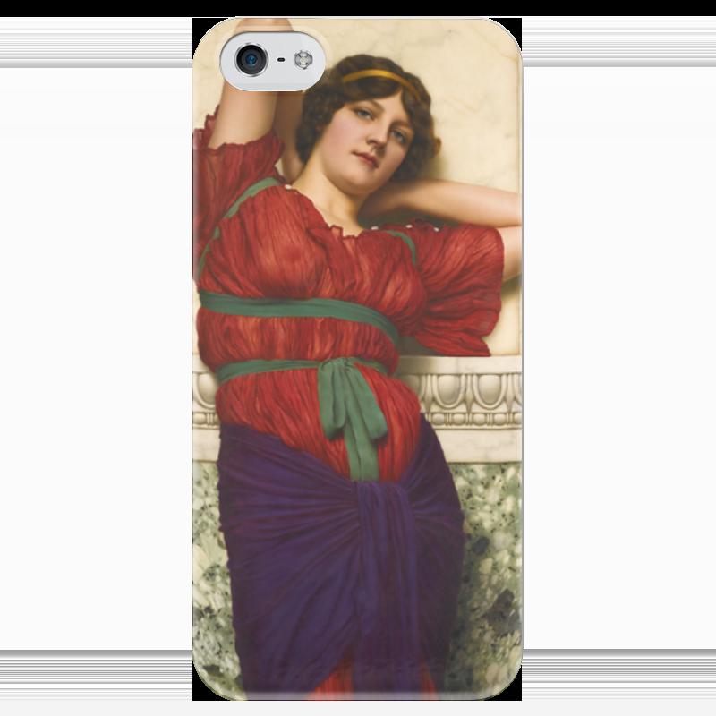 Чехол для iPhone 5 глянцевый, с полной запечаткой Printio Созерцание (джон уильям годвард) уильям пол янг ева