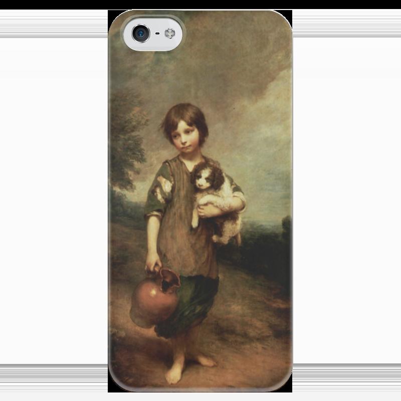 Чехол для iPhone 5 глянцевый, с полной запечаткой Printio Деревенская девочка чехол для iphone 5 глянцевый с полной запечаткой printio дама в голубом картина гейнсборо