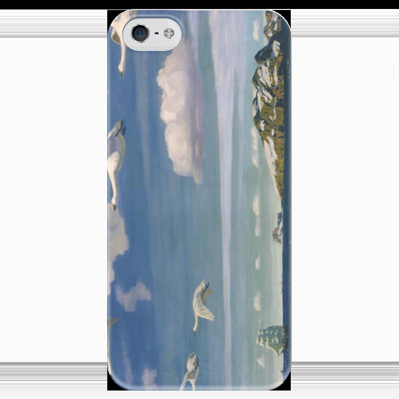 Чехол для iPhone 5 глянцевый, с полной запечаткой Printio В голубом просторе чехол для iphone 6 глянцевый printio дама в голубом картина сомова