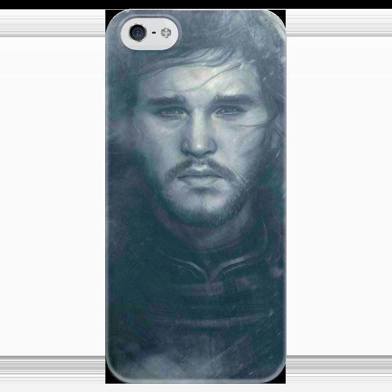 Чехол для iPhone 5 глянцевый, с полной запечаткой Printio Game of thrones чехол для iphone 5 глянцевый с полной запечаткой printio last of us