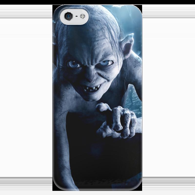 Чехол для iPhone 5 глянцевый, с полной запечаткой Printio Голлум чехол для iphone 4 глянцевый с полной запечаткой printio бэтмен