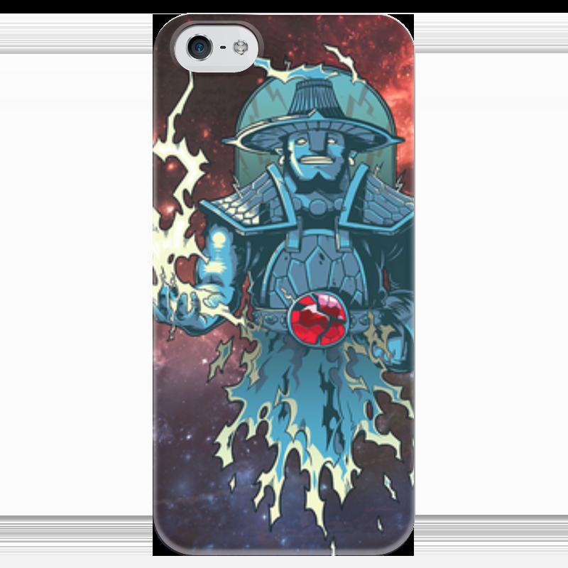 Чехол для iPhone 5 глянцевый, с полной запечаткой Printio Storm spirit dota 2 чехол для iphone 5 глянцевый с полной запечаткой printio vengeful spirit