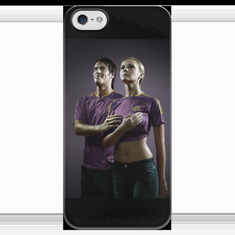 Чехол для iPhone 5 глянцевый, с полной запечаткой Printio Гимн физкультурников книги альпина паблишер гимн