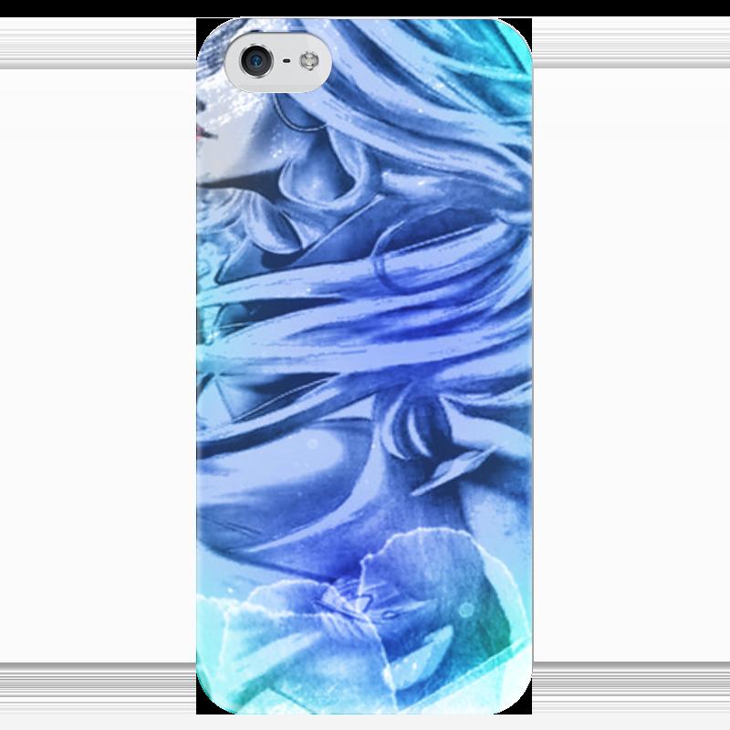 Чехол для iPhone 5 глянцевый, с полной запечаткой Printio Pop art чехол для iphone 7 глянцевый printio horror art