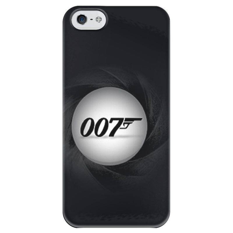 Чехол для iPhone 5 глянцевый, с полной запечаткой Printio 007 футболка для беременных printio bring me the horizon