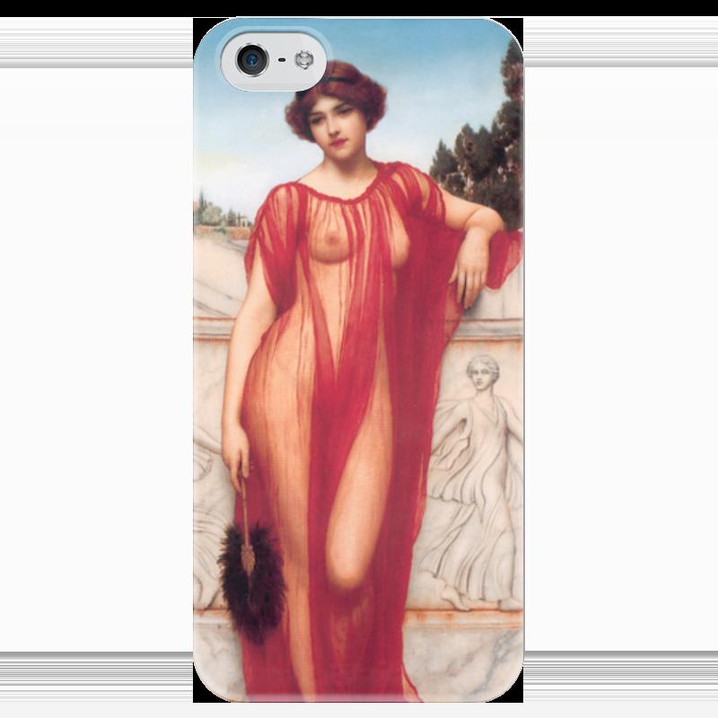 Чехол для iPhone 5 глянцевый, с полной запечаткой Printio Афинаида (джон уильям годвард) уильям пол янг ева