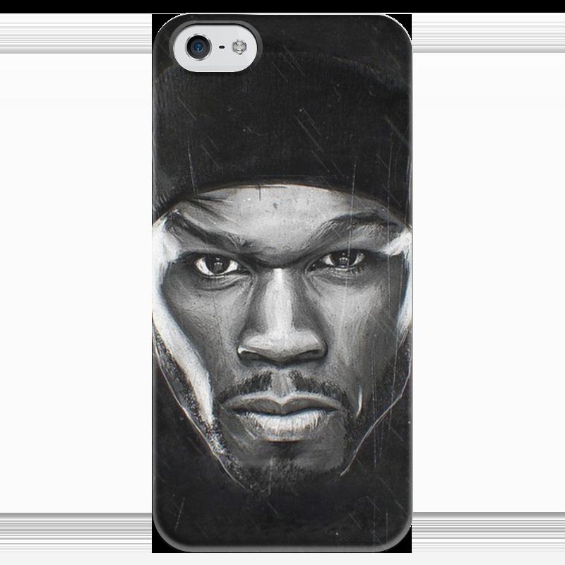 купить Чехол для iPhone 5 глянцевый, с полной запечаткой Printio the kanan tape - 50 cent iphone 5 недорого