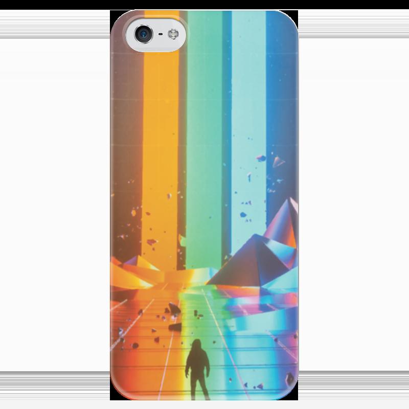 Чехол для iPhone 5 глянцевый, с полной запечаткой Printio Imagine dragons believer чехол для iphone 4 глянцевый с полной запечаткой printio эфиопка