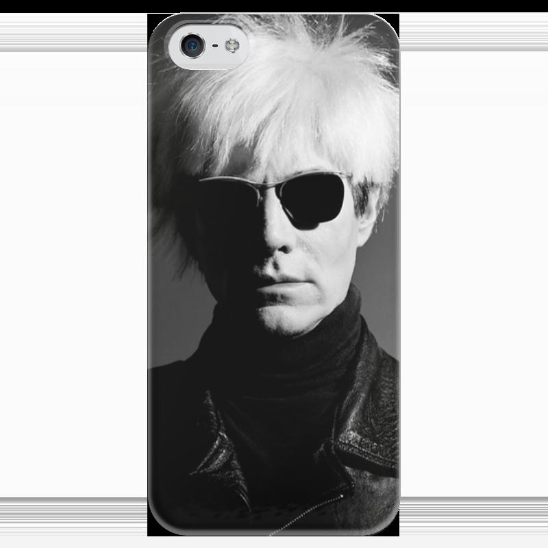 Чехол для iPhone 5 глянцевый, с полной запечаткой Printio Уорхол чехол для iphone 5 глянцевый с полной запечаткой printio хайзенберг