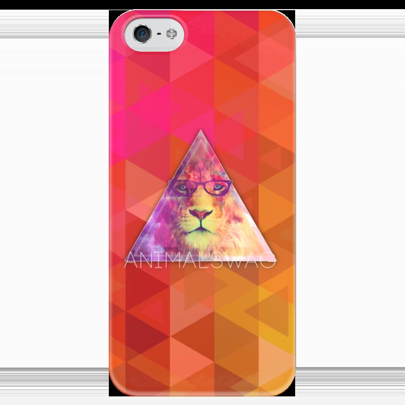 Чехол для iPhone 5 глянцевый, с полной запечаткой Printio animalswag ii collection: lion чехол для iphone 5 глянцевый с полной запечаткой printio lion dota 2