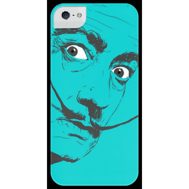Чехол для iPhone 5 глянцевый, с полной запечаткой Printio Сальвадор дали чехол для iphone 6 глянцевый printio сальвадор дали
