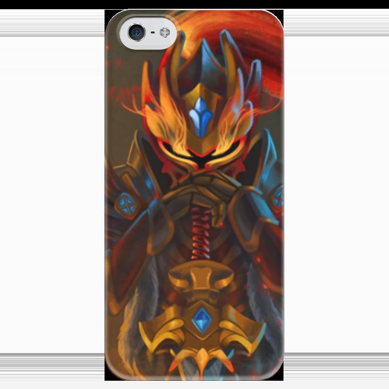 Чехол для iPhone 5 глянцевый, с полной запечаткой Printio Dota 2 dragon knight чехол для iphone 5 глянцевый с полной запечаткой printio dota 2 iron dota