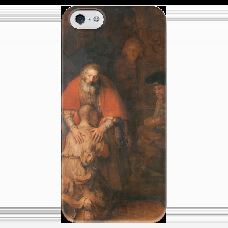 Чехол для iPhone 5 глянцевый, с полной запечаткой Printio Возвращение блудного сына (картина рембрандта) луганцева т возвращение блудного самурая