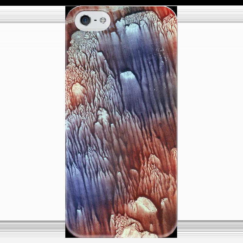 Чехол для iPhone 5 глянцевый, с полной запечаткой Printio Акварелька чехол для iphone 5 глянцевый с полной запечаткой printio хайзенберг