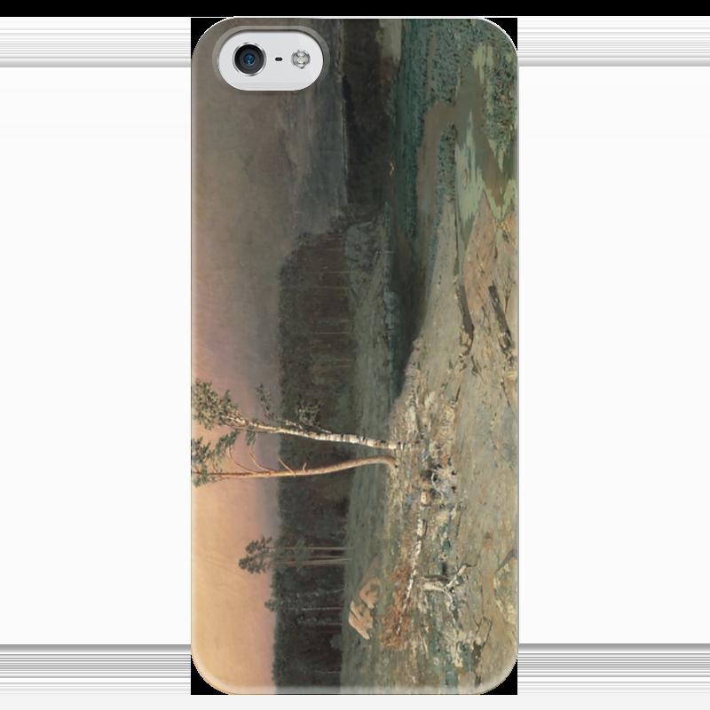 Чехол для iPhone 5 глянцевый, с полной запечаткой Printio На острове валааме (картина архипа куинджи) чехол для blackberry z10 printio север картина архипа куинджи