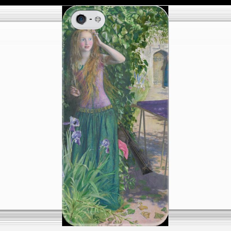 Чехол для iPhone 5 глянцевый, с полной запечаткой Printio Ярмарка розамунда (артур хьюз) артур конан дойл тайна клумбера