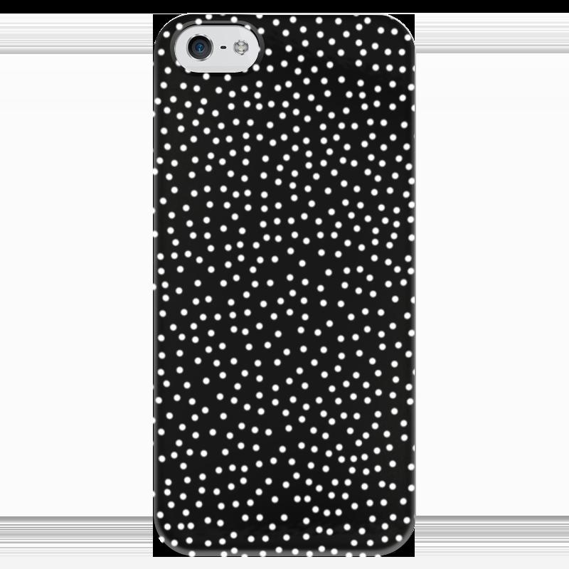 Чехол для iPhone 5 глянцевый, с полной запечаткой Printio Звёздное небо картленд барбара звездное небо гонконга