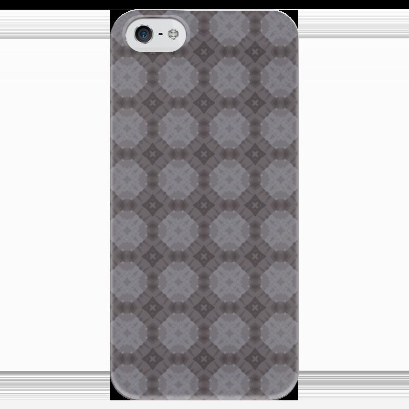 Чехол для iPhone 5 глянцевый, с полной запечаткой Printio Static чехол для iphone 5 глянцевый с полной запечаткой printio хайзенберг