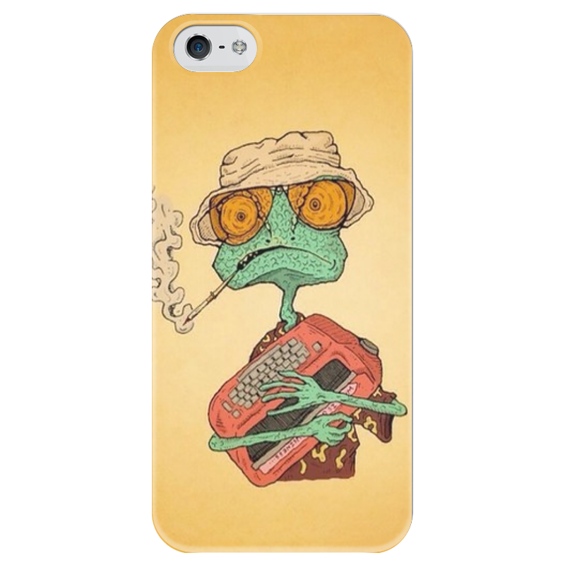 Чехол для iPhone 5 глянцевый, с полной запечаткой Printio Fear and loathing in las vegas pocket rough guide las vegas