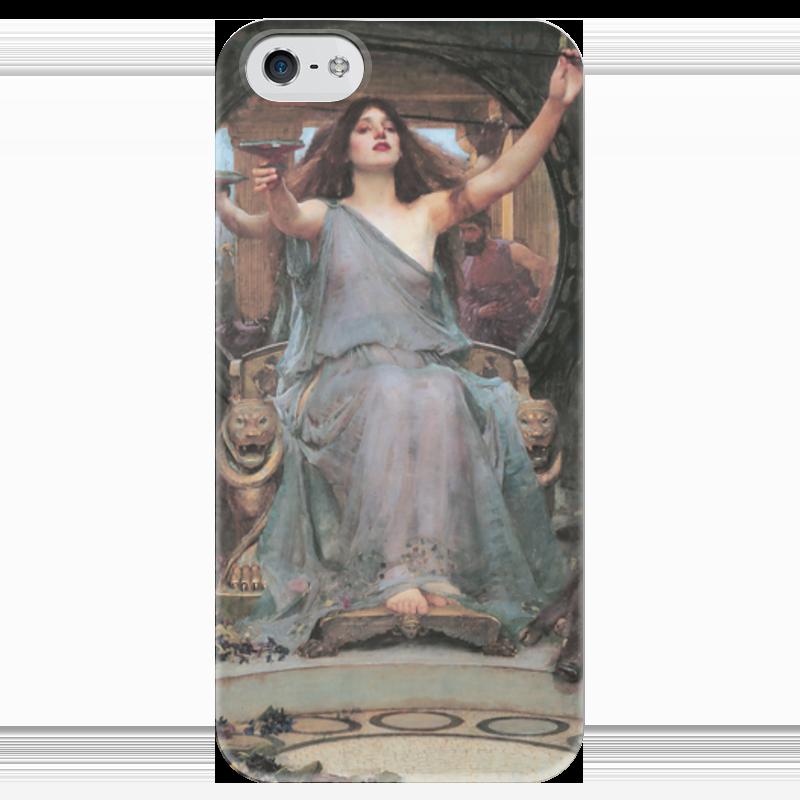 Чехол для iPhone 5 глянцевый, с полной запечаткой Printio Цирцея предлагает чашу улиссу (джон уотерхаус) чехол для iphone 6 глянцевый printio цирцея предлагает чашу улиссу джон уотерхаус