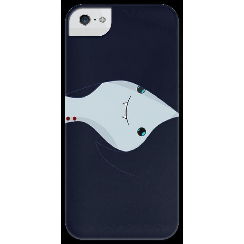 Чехол для iPhone 5 глянцевый, с полной запечаткой Printio Marсeline чехол для iphone 5 глянцевый с полной запечаткой printio цикличность