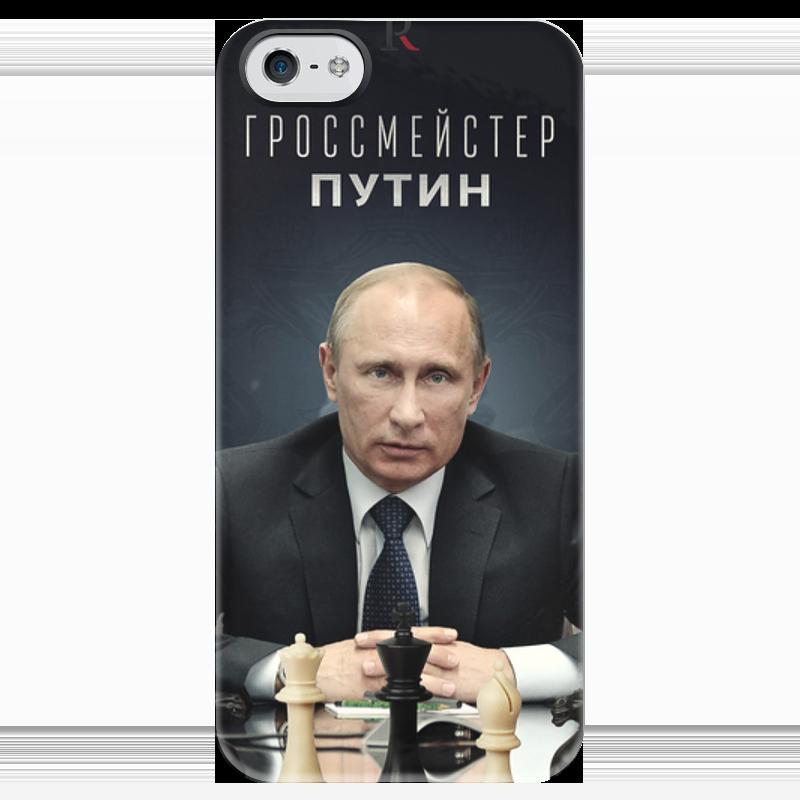 Чехол для iPhone 5 глянцевый, с полной запечаткой Printio Путин чехол для iphone 5 глянцевый с полной запечаткой printio сладкий путин