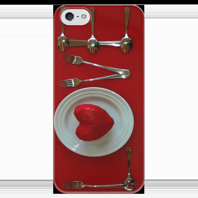 Чехол для iPhone 5 глянцевый, с полной запечаткой Printio Любовь имеет вкус чехол для iphone 5 глянцевый с полной запечаткой printio любовь