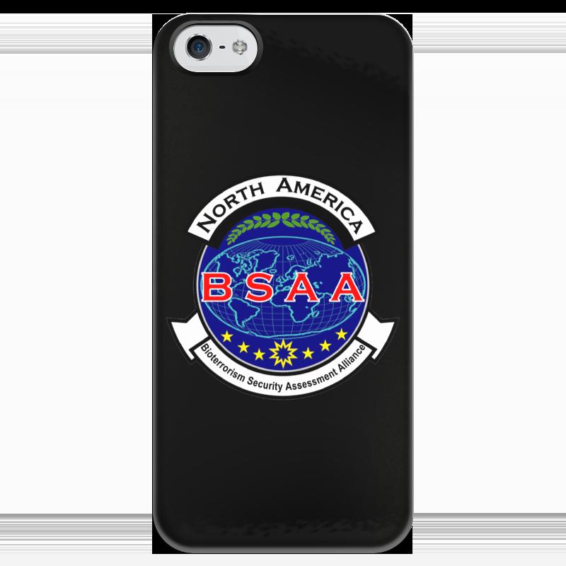 Чехол для iPhone 5 глянцевый, с полной запечаткой Printio Resident evil. bsaa resident evil 5 русский язык sony playstation 4 ролевая боевик