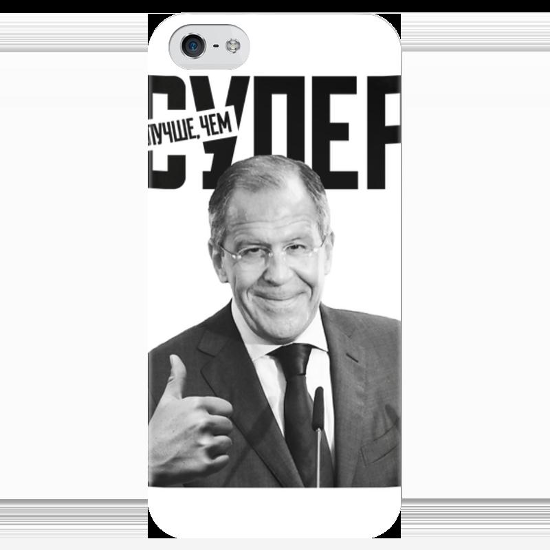 Чехол для iPhone 5 глянцевый, с полной запечаткой Printio Лучше, чем супер какой iphone лучше для россии