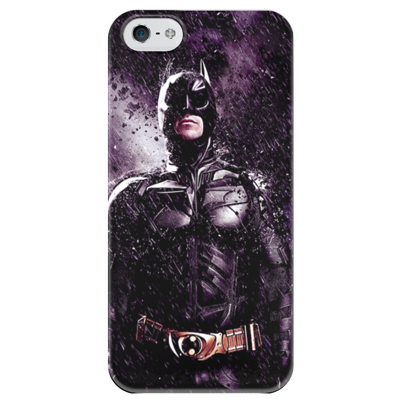 Чехол для iPhone 5 глянцевый, с полной запечаткой Printio Batman чехол для iphone 5 глянцевый с полной запечаткой printio combeep