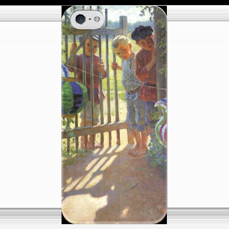 Чехол для iPhone 5 глянцевый, с полной запечаткой Printio Визитеры фигурка фонарик big figures звездные войны 12 см в асс те 615090