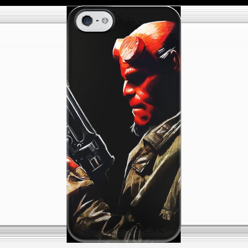 Чехол для iPhone 5 глянцевый, с полной запечаткой Printio Хеллбой чехол для iphone 5 глянцевый с полной запечаткой printio hellboy хеллбой