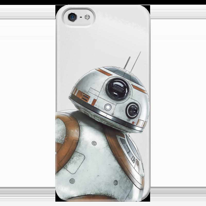 Чехол для iPhone 5 глянцевый, с полной запечаткой Printio Star wars/звездные войны дроид bb8 чехол для iphone 6 глянцевый printio звездные войны star wars