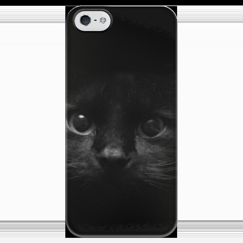 Чехол для iPhone 5 глянцевый, с полной запечаткой Printio Взгляд чехол для iphone 5 глянцевый с полной запечаткой printio цикличность
