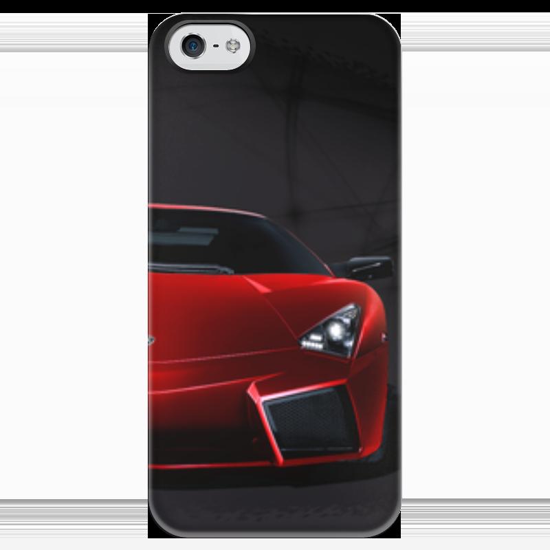 Чехол для iPhone 5 глянцевый, с полной запечаткой Printio Lamborghini aventador пазл 73 5 x 48 8 1000 элементов printio lamborghini aventador