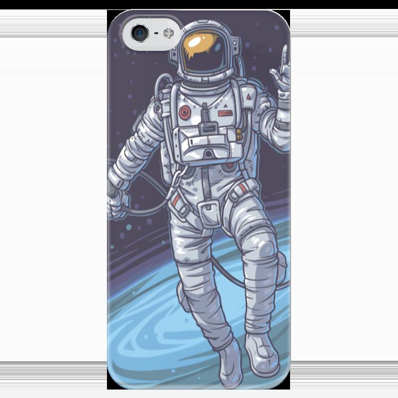 Чехол для iPhone 5 глянцевый, с полной запечаткой Printio Cosmos чехол для iphone 5 глянцевый с полной запечаткой printio дюк duke