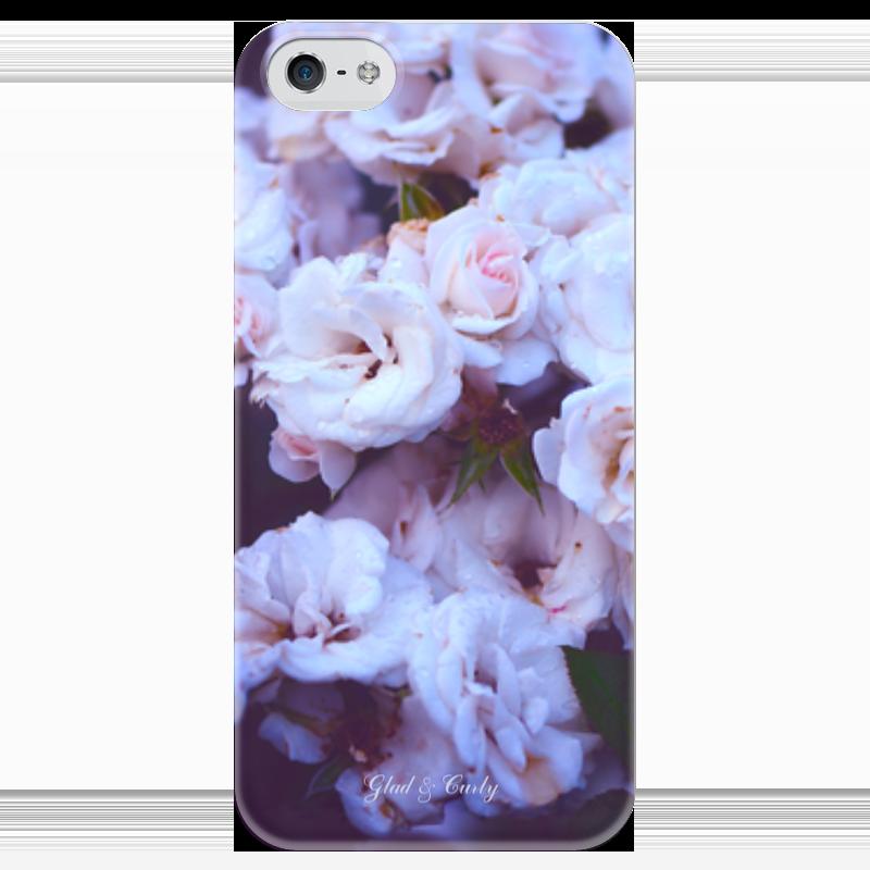 Чехол для iPhone 5 глянцевый, с полной запечаткой Printio Glad & curly чехол для iphone 4 глянцевый с полной запечаткой printio эфиопка
