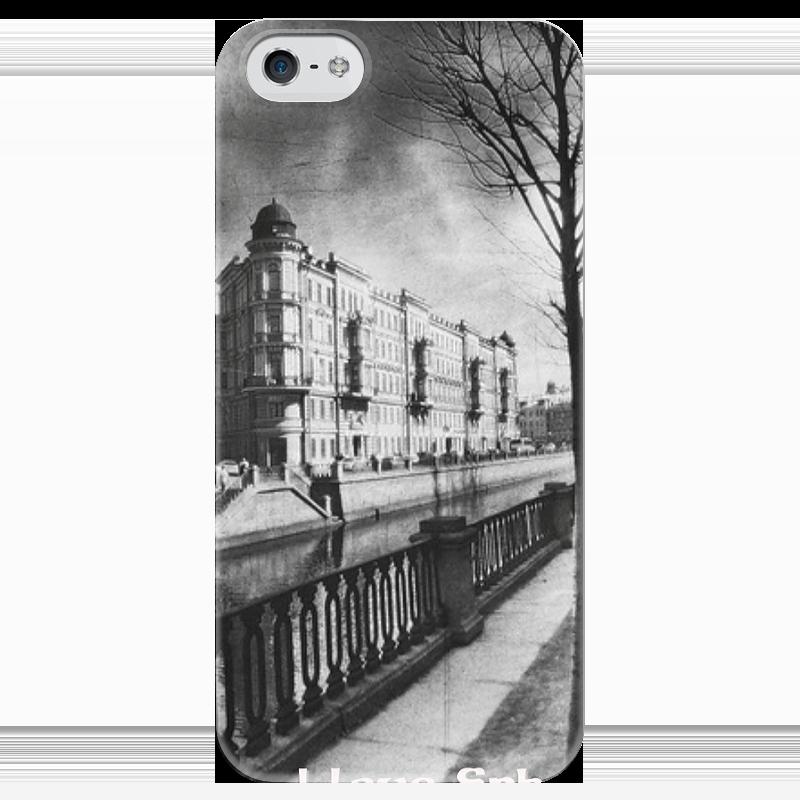 Чехол для iPhone 5 глянцевый, с полной запечаткой Printio I love spb чехол для iphone 5 глянцевый с полной запечаткой printio love