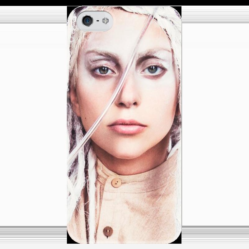 Чехол для iPhone 5 глянцевый, с полной запечаткой Printio Lady gaga чехол для iphone 4 глянцевый с полной запечаткой printio study of a lady