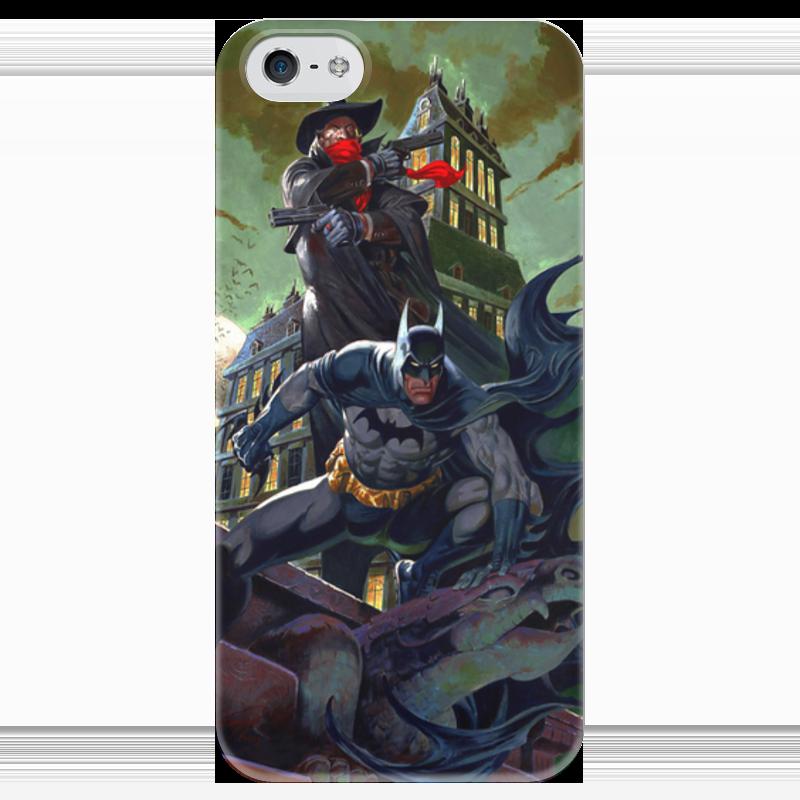 Чехол для iPhone 5 глянцевый, с полной запечаткой Printio Batman чехол для iphone 5 глянцевый с полной запечаткой printio пилот