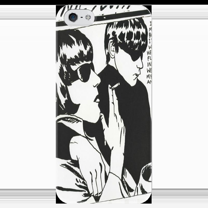 Чехол для iPhone 5 глянцевый, с полной запечаткой Printio Sonic youth sonic youth sonic youth rather ripped