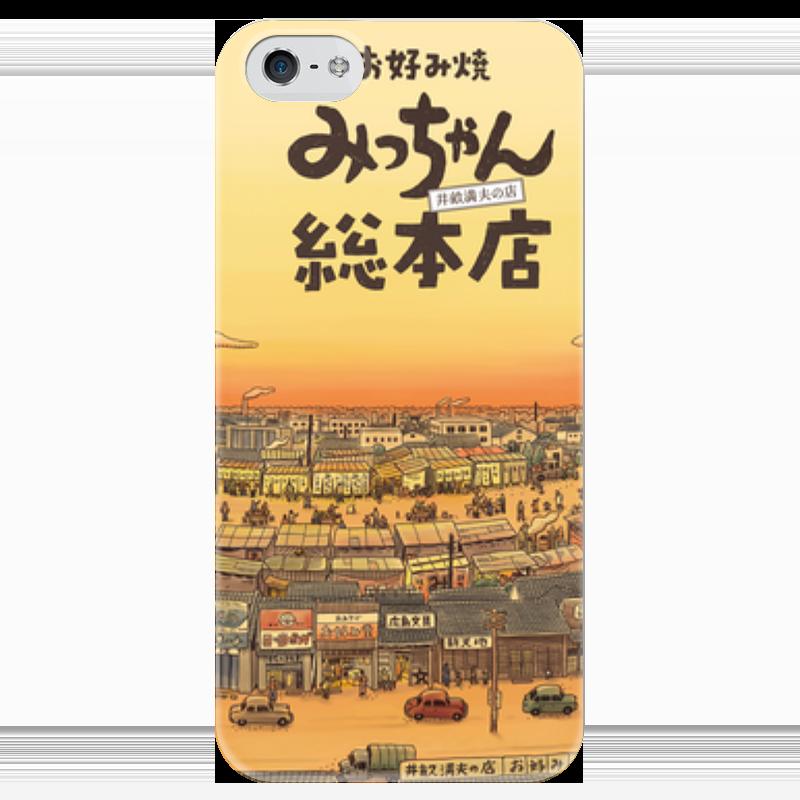 Чехол для iPhone 5 глянцевый, с полной запечаткой Printio Рассвет в провинции чехол для iphone 5 глянцевый с полной запечаткой printio заяц в узорах