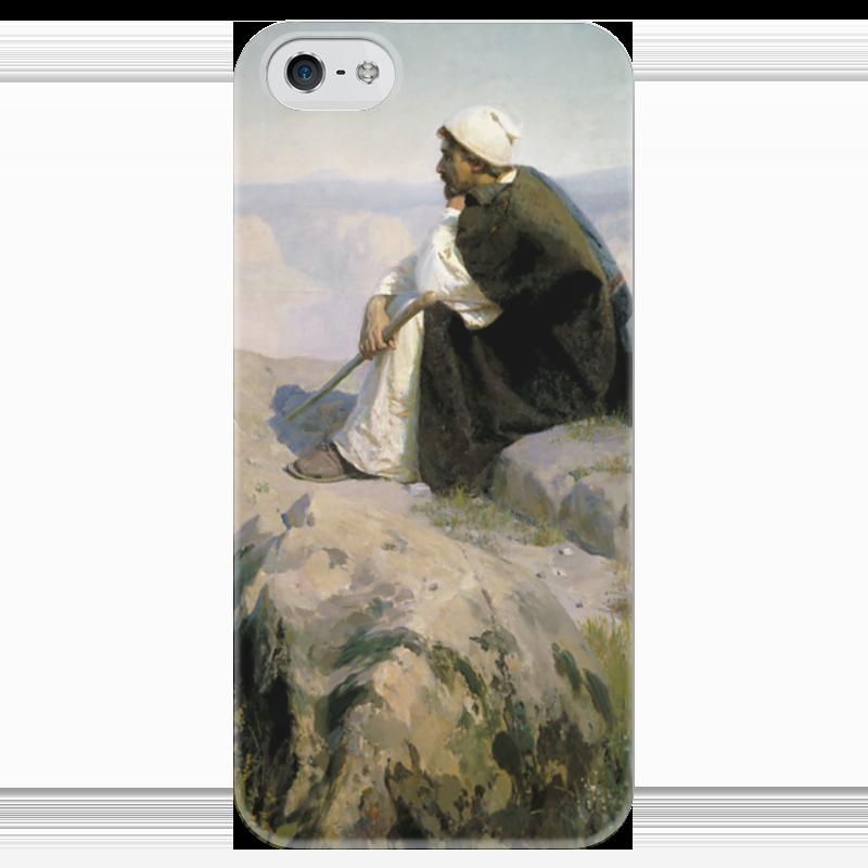 Чехол для iPhone 5 глянцевый, с полной запечаткой Printio Мечты (на горе) чехол для iphone 7 глянцевый printio мечты витторио коркос
