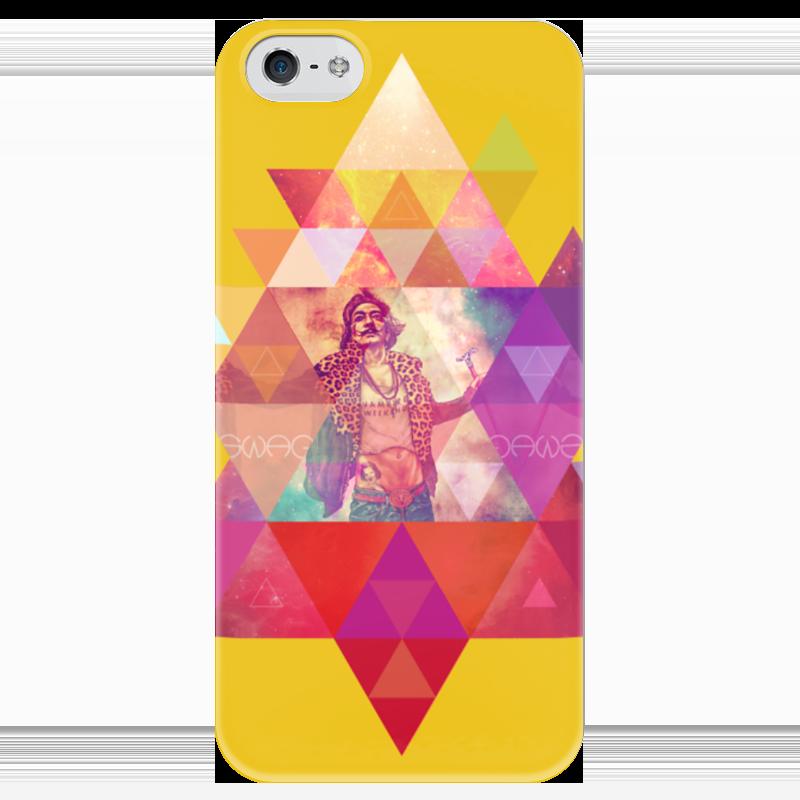 Чехол для iPhone 5 глянцевый, с полной запечаткой Printio hipsta swag collection: salvador dali